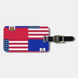 HAITIAN-AMERICAN BAG TAG