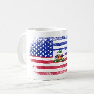 Haitian American Flag   Haiti and USA Design Coffee Mug