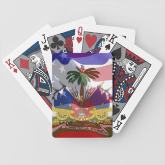 Haitian-American playing cards