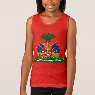Haitian - coat of arms Tank Top