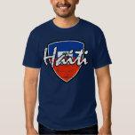 Haitian distressed flag T-Shirt