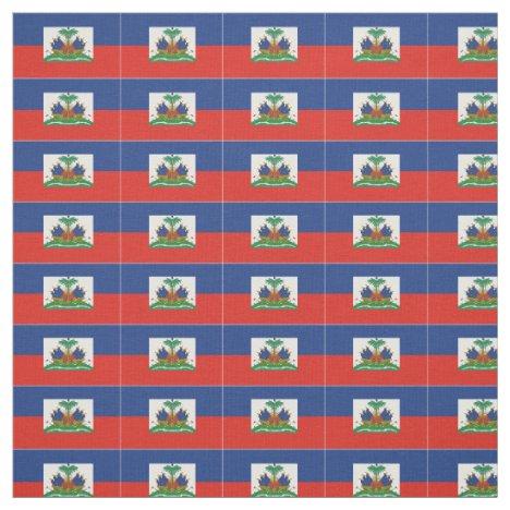 Haitian Flag Fabric
