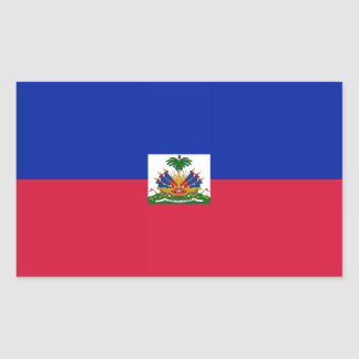 Haitian flag stickers