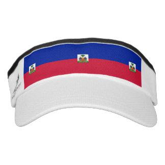 Haitian flag visor