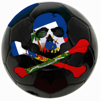 Haitian Football Statuette