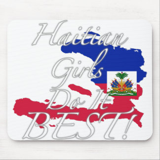 Haitian Girls Do It Best! Mouse Pad