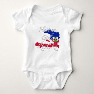 Haitian Girls Rock! Baby Bodysuit