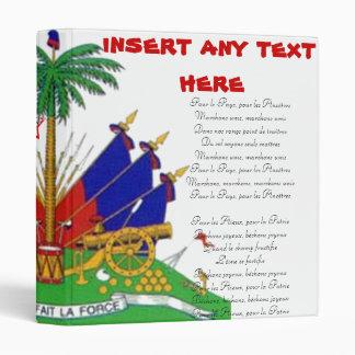 Haitian National Anthem Binder