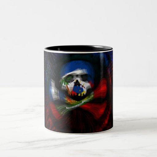 Haitian Pirate Flag Coffee Mugs