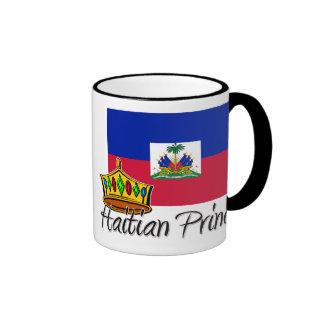 Haitian Princess Ringer Coffee Mug