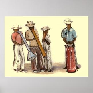 Haitian Street Musicians
