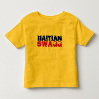 HAITIAN SWAGG TODDLER T-SHIRT