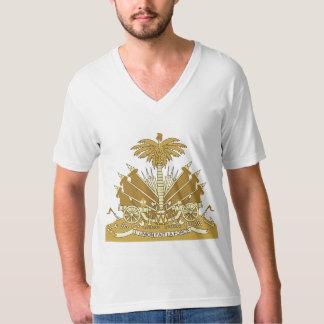 Haitiano - camiseta del escudo de armas