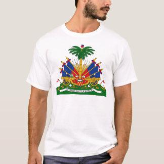 Haitiano - escudo de armas playera