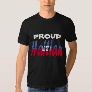 Haitiano orgulloso camisas