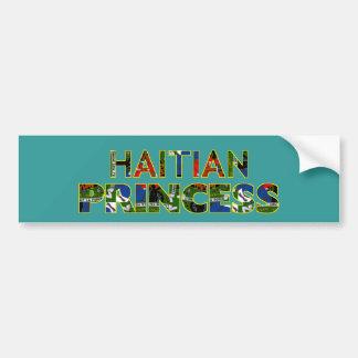 HAITIANPRINCESS001 BUMPER STICKER