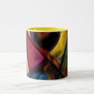 Haitienne en Vitraux A Two-Tone Coffee Mug