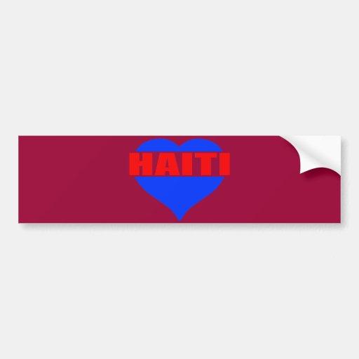 haitiheart002 bumper stickers