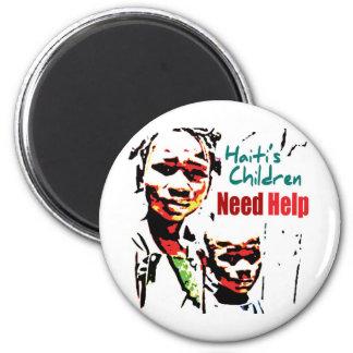 Haiti's Children Need Help Magnet