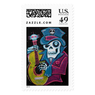Haiti's Day of the Dead Postage Stamp