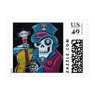 Haiti's Day of the Dead Postage