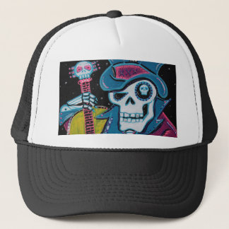 Haiti's Day of the Dead Trucker Hat