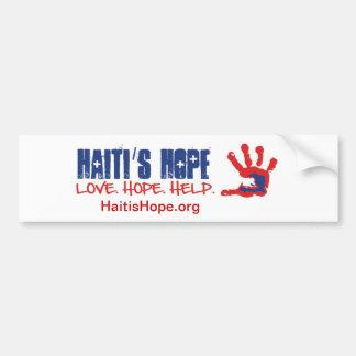 Haiti's Hope bumpersticker Bumper Sticker