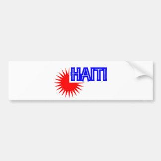 haitisoleil014 car bumper sticker