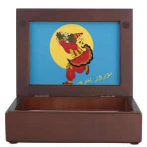 Haji Firooz Blue Sky Eid e Norooz Keepsake Box