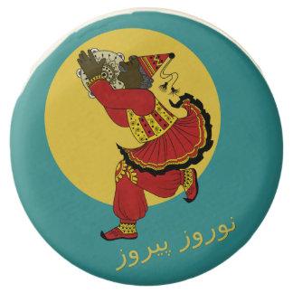 Haji Firooz Blue Sky Eid e Norooz Chocolate Covered Oreo