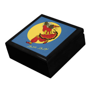Haji Pirooz Blue Sky Persian New Year Gift Box