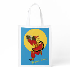 Haji Pirooz Blue Sky Persian New Year Grocery Bag