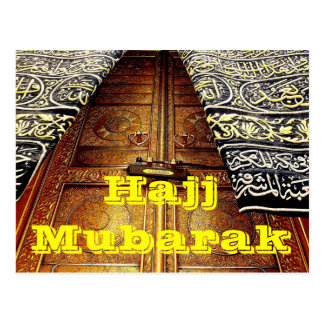 Hajj. Mubarak postcard