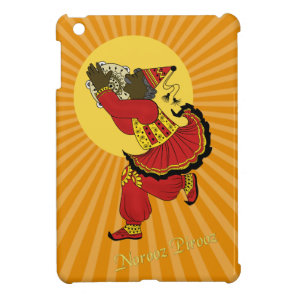 Hajji Piruz Solar Rays Persian New Year Cover For The iPad Mini