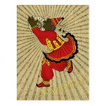 Hajji Piruz Solar Rays Persian New Year Postcards