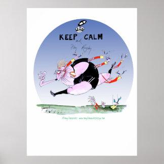 haka rugby steamroller, tony fernandes poster