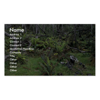 Hakalau Forest National Wildlife Refuge Double-Sided Standard Business Cards (Pack Of 100)