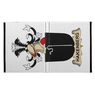 Hakenberg Family Crest iPad Folio Covers