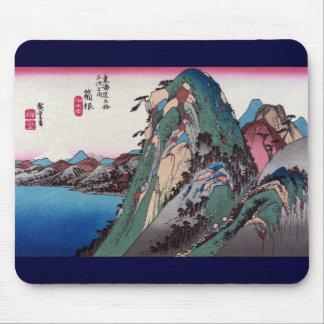 Hakone, 53 estaciones del camino de Tōkaidō, Hiros Tapetes De Raton