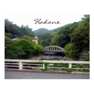 hakone bridge post card