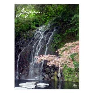 hakone falls postcard
