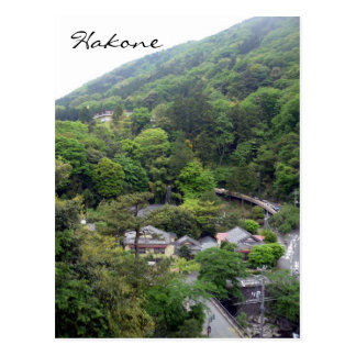 hakone hills postcard