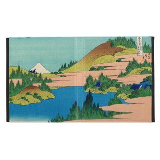 Hakone Lake in Sagami Province iPad Folio Covers