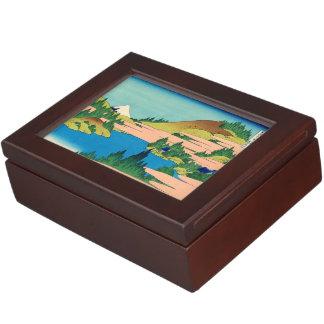 Hakone Lake in Sagami Province Memory Box