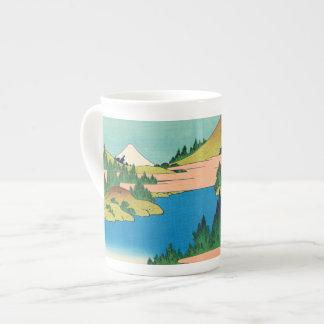 Hakone Lake in Sagami Province Tea Cup