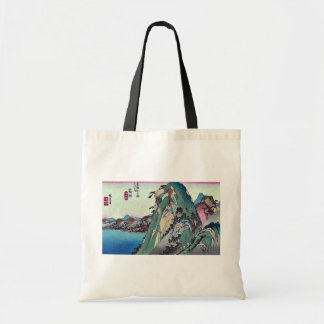 Hakone por Ando, Hiroshige Ukiyoe Bolsa Tela Barata