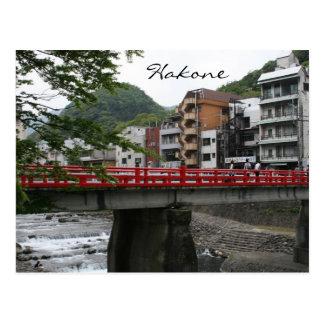 hakone red bridge postcards