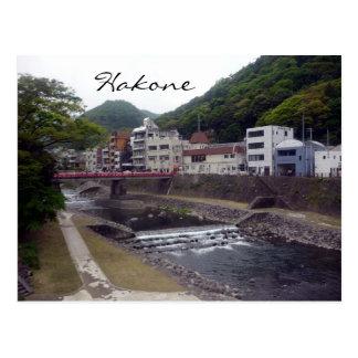 hakone river postcards
