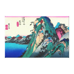 Hakone Station 1833 Canvas Print