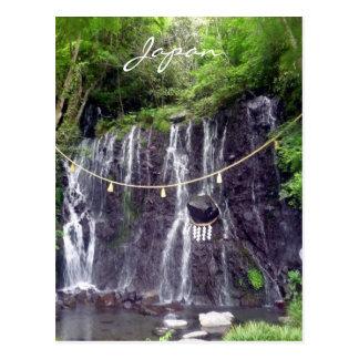 hakone waterfalls post cards